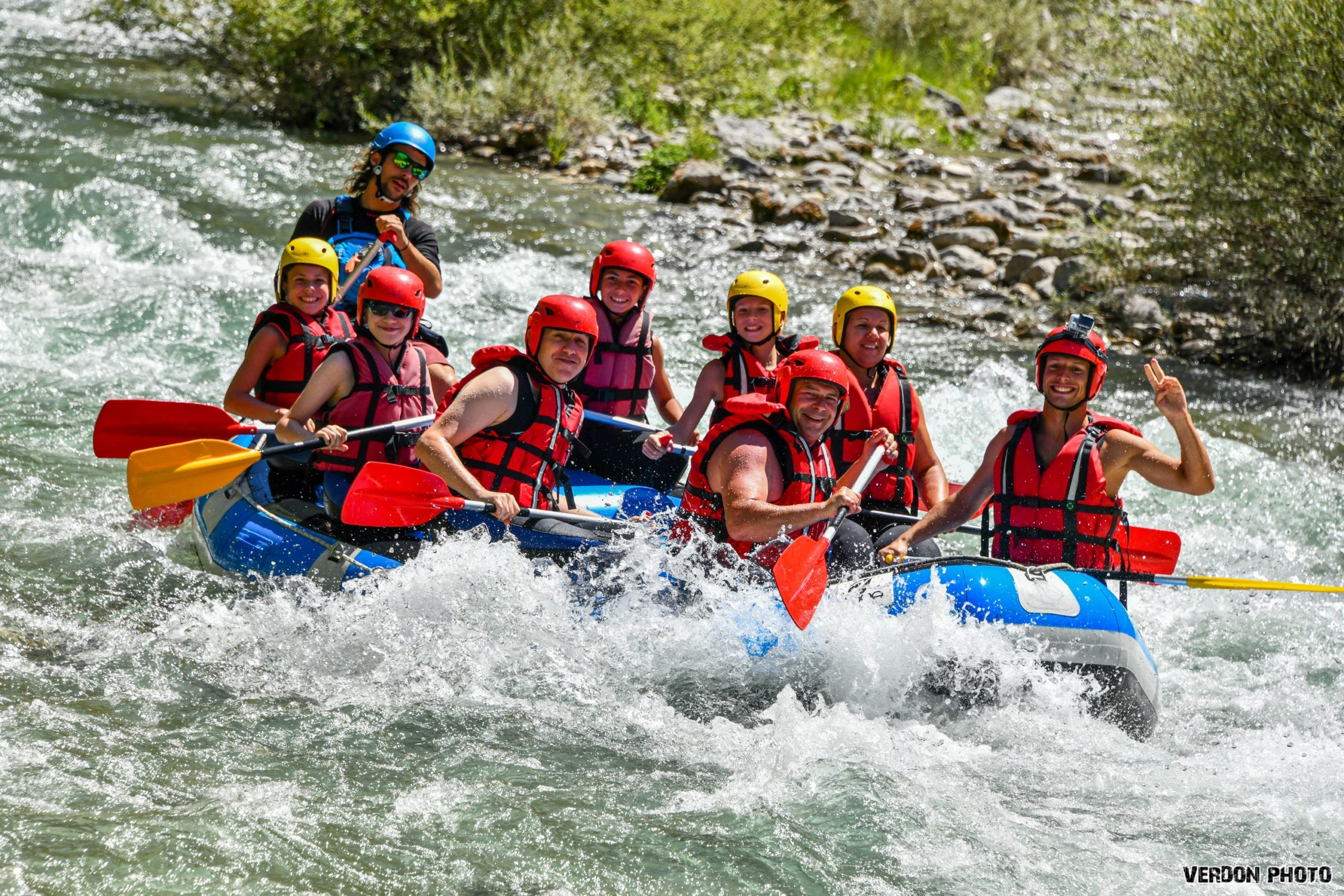 rafting discovery of the verdon